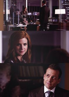 Donna & Harvey ... just friends (yeah, right!)