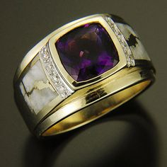 RANDY POLK DESIGNS: MEN'S RINGS