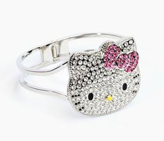 Hello Kitty Die-Cut Face Bangle: Pretty  - think i need this