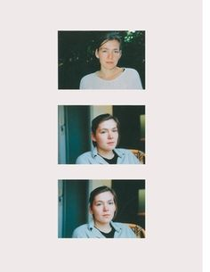 """Featured images, all titled """"Sabine"""" (1993/95), are reproduced from Gerhard Richter's Atlas."""