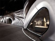 Roca-London-Gallery in London/GB - Vom Wasser inspiriert, mit Beton realisiert - Objekte - Beton.org