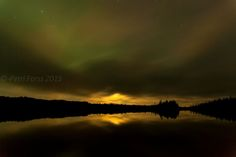 night in Finland by Petri Forss