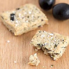 Rosemary olive cracker