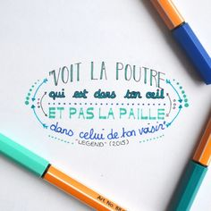 """▫La citation de la semaine ▫  French quote // Literal translation  ▶ """"See the beam in your eye and not the mote in your brother's eye."""" Legend (2015)  #cinephile #citation #quote #quoteoftheday #legend #cinemaquotes #cinema #calligraphy #movie #cinematography"""