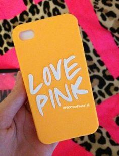 Love Pink phone case