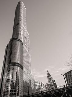 Chicago Architecture Black And White chicago photography, chicago theater, black and white photography
