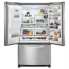 Kitchenaid Refrigerator for Sale Kitchenaid Refrigerator, Bottom Freezer Refrigerator, French Door Refrigerator, California Homes, Kitchen Appliances, Energy Star, Products, Spaces, Diy Kitchen Appliances