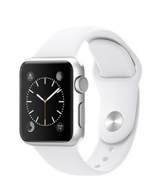 Apple Smartwatch Sport 42mm Silver Aluminium Case White Sport Band
