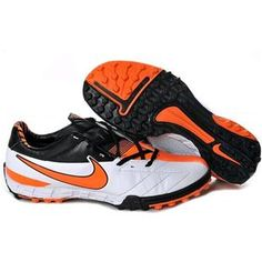 http://www.asneakers4u.com/ Nike Total 90 Shoot IV TF Astro Turf   In White Total Orange Black Men Football Cleats
