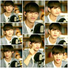 daehyun oppa smiling and staring compilation.. my heart!! ㅠㅠ #daehyun #jungdaehyun #soloproject #shadow #heyotv #daehyunxjongup #bap #babyz #foreverwithbap
