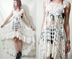 crocheting dress