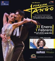 Forever Tango @ Centro de Bellas Artes, Caguas #sondeaquipr #forevertango #cba #caguas