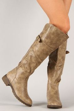 Sarah 01 Womens Knee High Round Toe Riding Boots Khaki -- Read more at the image link. (This is an Amazon affiliate link)