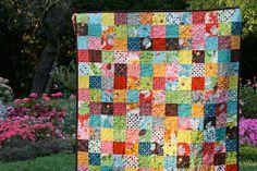 baby flea market fancy patchwork quilt