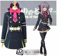Special Use: Cosplay Gender: Women Components: Dresses,Other Characters: Other Source: owari no seraph