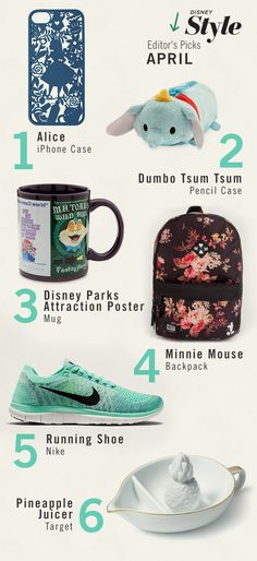 Ready, set, April! Here's what we are loving this month:  1.