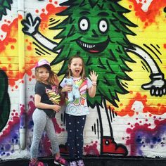 One of the great fun things about Living in #The6ix is the abundance of colorful graffiti downtown! Here's a moment in time on Ossington St. as #momboss @michellekorson.ca was on a hunt for creative inspiration on the weekend girls in tow :) #the6ix #torontolife #momsTO #momlife #momblog #mommyblogger #kiddiefun #graffiti #graffititoronto #ossington #creative #downtown #adventure #canadianmom #canadiankids #momresourceca