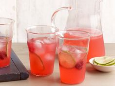 You can make the raspberry syrup for this Sparkling Raspberry Limeade up to two days in advance.