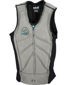 Liquid Force Womens Cardigan Comp Life Vest in Grey ----- #wakesurf #wakesurfing #liquidforce #wakeboard #wakeboarding #lifevest