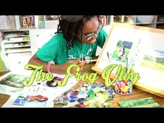 The Frog Vlog: How to Make Dollhouse Paintings - Doll Crafts - YouTube