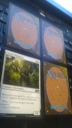Ajani's Pridemate M15 Magic The Gathering plus 3 bonus card(s)