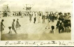 Bradenton Beach 1933 Facebook: Anna Maria Island Beach LIfe www.annamariaislandhomerental.com #annamariaisland