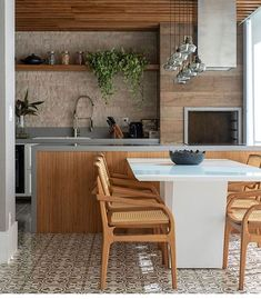 New kitchen loft style dining rooms Ideas Home Decor Kitchen, New Kitchen, Kitchen Dining, Cheap Wall Decor, Cheap Home Decor, Loft Style, Decor Interior Design, Furniture Design, Dining Area