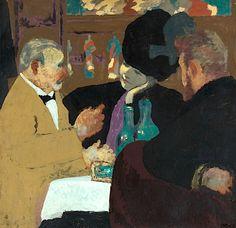 Edouard Vuillard 1868 - 1940 La Partie De Plaisir