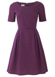 Gemma Flared Dress. #fairtrade #sustainable class.    via People Tree