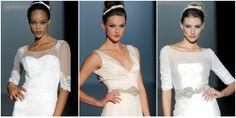 Vestidos de novia de Franc Sarabia 2015. Barcelona Bridal Week 2014.