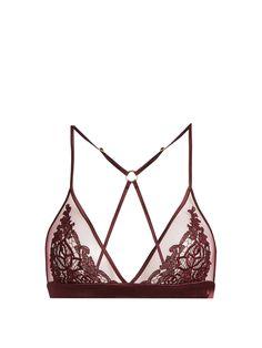 Guipure Boudoir soft-cup lace bra | Fleur of England | MATCHESFASHION.COM US