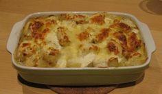 Ovenschotel met kip en boursin | Kris Kookt