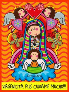 photo by lindavista Catholic Wallpaper, Alice In Wonderland Tea Party, Bday Girl, Catholic Saints, Arte Popular, Mexican Style, Sacred Art, Kirchen, Rock Art