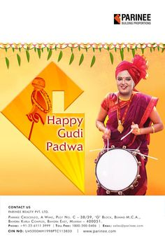 Parinee Realty wishes you a happy and a prosperous Gudi Padwa  www.parinee.com  #parinee #parineebuilders #realestate #luxury #luxurioushouse #realtor #propertymanagement #bestpropertyrates #homesellers #bestexperience #homebuyers #dreamhome #mumbai
