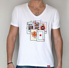 Camiseta baraja de cartas (Hombre)