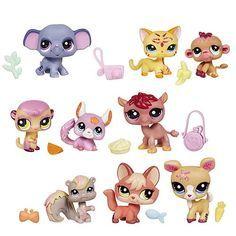 Littlest Pet Shop 3-Pack Pets Wave 1 - Hasbro - Littlest Pet Shop ...