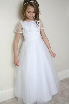 15fc3780d2b9 9 Best Communion Dresses images | Girls dresses, Dresses of girls ...