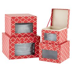 Holiday Dinnerware Storage Cases  sc 1 st  Pinterest : dinnerware storage containers - Pezcame.Com