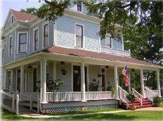Booker-Lewis House in Leesville, Louisiana. Chef John was wonderful!