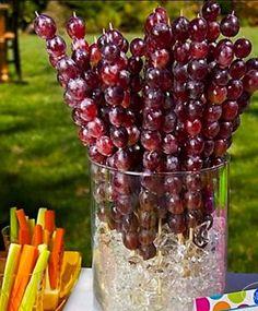 Grape skewers