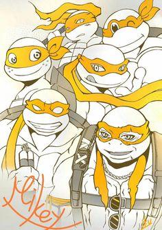 The Best Mikey you can pick Lion Turtle, Turtle Love, Ninja Turtles 2014, Teenage Mutant Ninja Turtles, Tmnt 2012, Miguel Angel, Tmnt Mikey, Tmnt Comics, Action Comics 1