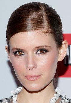 Kate Mara Demonstrates Two Ways to Wear a Side-Parted Updo (Which Do You Like Best?)