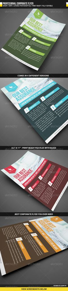 Professional Corporate Flyer - GraphicRiver Item for Sale
