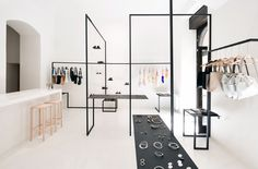 In order to provide an hub for seven designers from various fields of fashion…