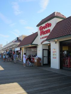 The legendary taste of Grotto Pizza! This is a must have on your visit to Delaware.