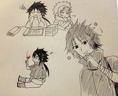 落書き [20] Izuna Uchiha, Sasunaru, Anime Naruto