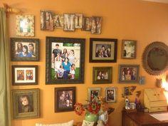 My Family photo wall