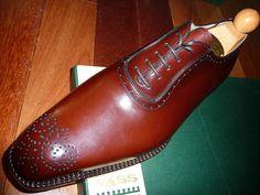 Laszlo Vass of Budapest: MTO (Made To Order) Italian Wholecut Cognac