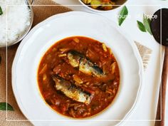 Canned Sardines in a Spicy Tangy Tomato Gravy goes best with Hot Steaming Rice @ HOSpice !!