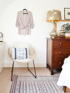 Neutral Layered Light Master Bedroom One Room Challenge Reveal Living Pretty Blog-10